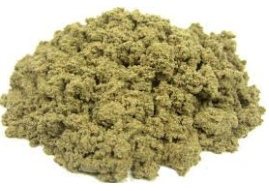 This is the sifted fine moxa from original herb